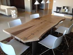 cherry dining table. Custom Made Living Edge Cherry Dining Table