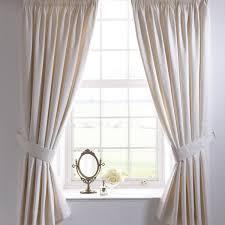 vantona renaissance damask pencil pleat curtains and tiebacks cream 2 sizes