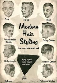 Mens Haircut Chart Pin On Vintage Ads