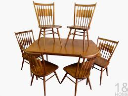 modern mid century danish vine furniture used discontinued drexel herie dining chairs