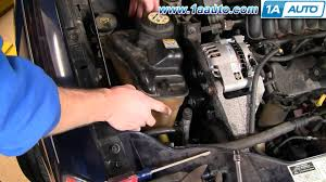 2000 ford contour starter location vehiclepad 2000 ford how to install replace alternator ford taurus v63 0l 00 07 1aauto