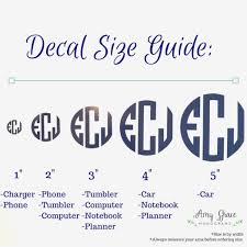Car Decal Size Guide Wall Decor Diy