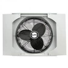 small single window exhaust fan