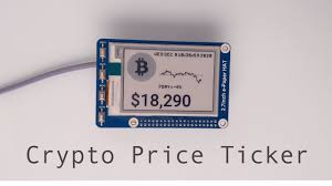 Regular updates on bitcoin market cap and more. Cryptocurrency Epaper Ticker Federal Tokens