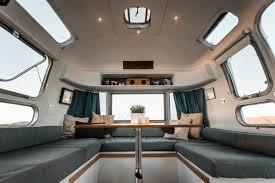 Airstream Interior Design Painting Impressive Inspiration