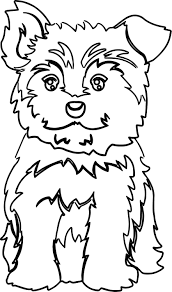 This worksheet will help your child practice with the uppercase letter. Cool Yorkie Puppy Color Dog Puppy Coloring Page Puppy Coloring Pages Dog Coloring Page Love Coloring Pages