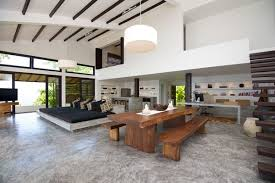 modern tropical furniture. Interior Home Design: Modern Tropical Design Mixed With Traditional Thai Elements: Casas Del Sol Furniture