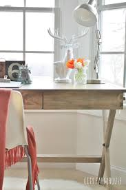 campiagn desk cost plus getting the look for less city farmhouse