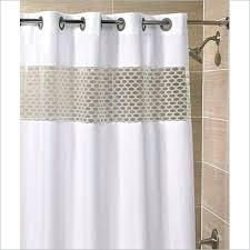 hookless shower curtain shower curtain cream