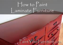 paint laminate furnitureHow to Paint Laminate Furniture  PaintYourFurniturecom
