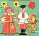 Поделки русского народного костюма