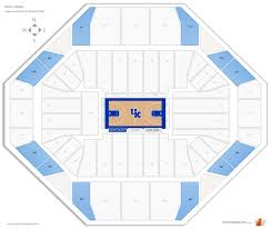 Rupp Arena Seating Chart Seat Numbers Rupp Arena Kentucky Seating Guide Rateyourseats Com
