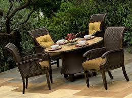 wicker outdoor furniture sets design