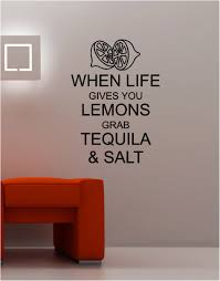 when life gives you lemons lounge kitchen quote wall art sticker vinyl decal on vinyl wall art quotes for kitchen with when life gives you lemons wall art sticker vinyl quote kitchen