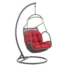 hendrickson furniture. Arbor Outdoor Patio Wood Swing Chair, Red By Modway Best Choices Hendrickson Furniture U