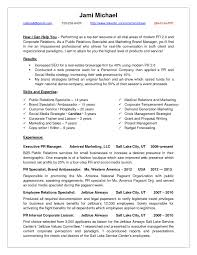 Sample Public Relations Manager Resume Cover Letter Sample
