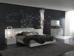 unique  black bedroom wall decor design decoration of best