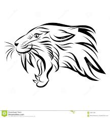 Animaux Dessin De Tigre A Dent De Sabre Comment Dessiner Un Tigre