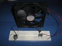 simple linear fan controller the circuit
