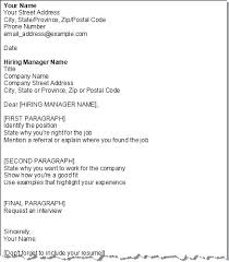 Proper Cover Letter Proper Cover Letter Resume In Format Of A Good ...