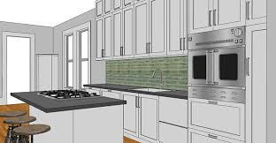 Sketchup Kitchen Design Cool How To SketchUp Your Kitchen Nik Kinnaird