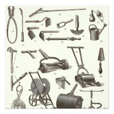 antique garden tools. Fine Tools The Elegant Gardener  Antique Garden Tools Invitation Throughout