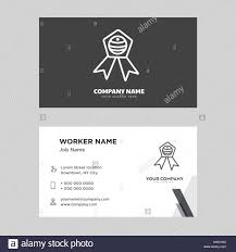 Badge Business Card Design Template Visiting For Your