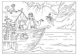 Kleurplaat De Ark Van Noah De Ark Van Noach Arche Noah Bibel