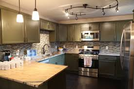kitchen track lighting pictures. Inspiring Design Of Kitchen Track Lighting And Hampton Bay Cabinets With Double Sink Pictures