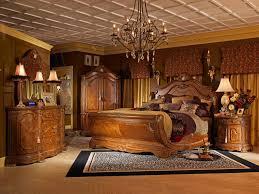 Michael Amini Living Room Furniture Aico Michael Amini 5pc Cortina King Size Sleigh Bedroom Set In