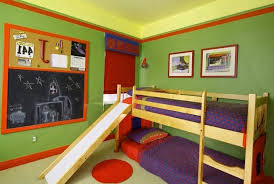 bedroom designs for kids children. Fine Bedroom Colorful Wall Decoration Bunk Beds And Colorful Pillows Modern Kids Room  Decorating Ideas To Bedroom Designs For Kids Children E