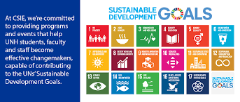csie supports the uns susnable development goals