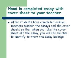 unit iv lesson slow way home persuasive essay assessment  8 hand in completed essay