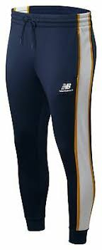New Balance Men's <b>NB Athletics Track Pant</b> Navy | eBay