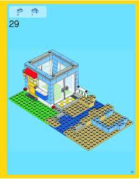 Lego House Plans Lego Seaside House Instructions 7346 Creator