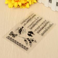 music note stamp diy silicone music notes transparent rubber stamp scrapbooking