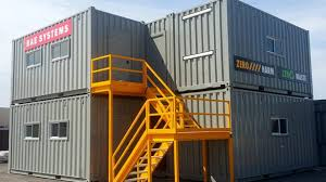 shipping containers office. Shipping Container Office Encourage Complex Special Projects ByPort Containers Regarding 2