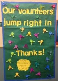 Volunteer Thank You Posters For Parents Open House And