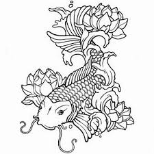Small Picture Koi Carp Fish Coloring Pages Coloring Pages