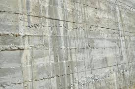 layered concrete wall in perspective stock photo image of panel defect board install durock cement