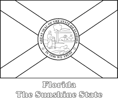 By colouring in these flags, they are also learning and improving their geography and flag. Large Printable Florida State Flag To Color From Netstate Com