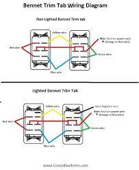 wiring diagrams coastal switches Bennett Trim Tab Wiring Diagram bennet trim tab wiring diagram bennett trim tab wiring diagram for relays