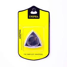 Купить <b>Кольцо</b>-<b>держатель для смартфона</b> Unipha, серебряный в ...
