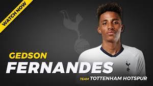 GEDSON FERNANDES ▻ Amazing Goals & Skills (Tottenham Hotspur) - YouTube