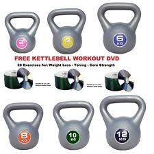 york kettlebells. kettlebells vinyl weights kettle bells 4kg 6kg 8kg 10kg 12kg uk fitness free dvd york