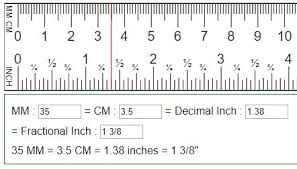 Convert Mm To Inch Cm To Inch Inch To Cm Inch To Mm Diy