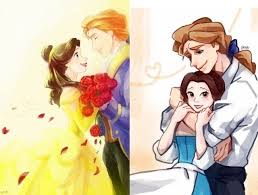 Belle and Adam | Disney beauty and the beast, Belle and beast, Beauty and  the beast