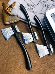 Damask steel <b>folding sharp</b> axe mini <b>bearing</b> small axe field survival ...