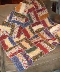 How to Make a Fabric Strip Rag Quilt | Strip rag quilts, Fabric ... & Lap size is quick to make with a jelly roll – flannel, rag quilt in rail  fence pattern; fluffy on both sides! Adamdwight.com