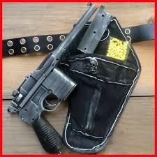 steampunk holster belt star wars han solo airsoft bb mauser broomhandle c96